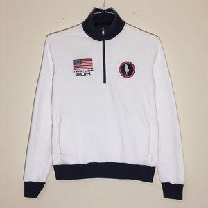 🔥2014 Olympics TEAM USA 1/4 Zip Jacket